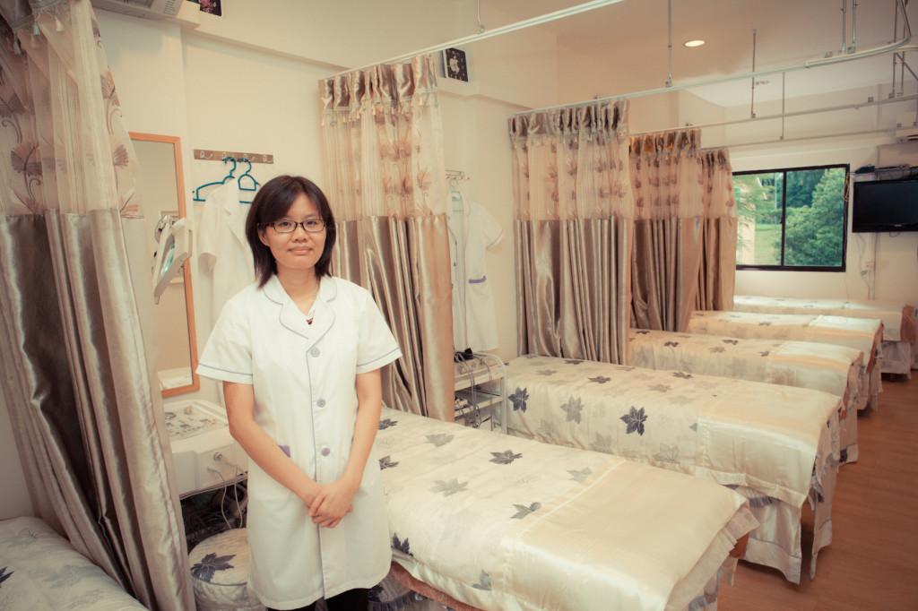 Heitman Wellness Shopfront A Staff Member Standing In Front Of Treatment Beds